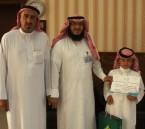 """""""عبدالله المقهوي"""" يحصل على """"المركز الأول"""" في """"المسابقة الوطنية الإلكترونية"""""""