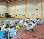 """40 طالباً مكفوفاً يتنافسون في مسابقة """"برايل """" بتعليم الأحساء"""