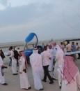 """بالصور… """"نادي الطيران"""" يحلق في سماء الأحساء بتوجيه من """"سلطان بن سلمان"""""""