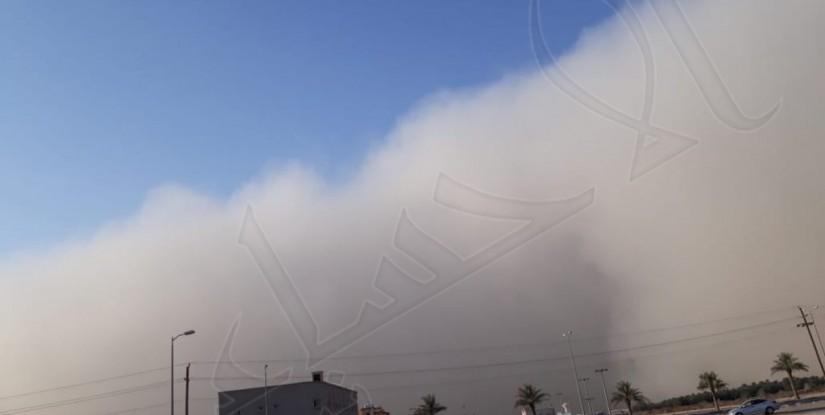 #عاجل    شاهد.. موجات الغبار تصل الأحساء !!