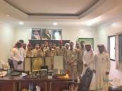 """ترقية المقدم """"بن طوالة"""" بمستشفى """"الملك عبدالعزيز"""" للحرس الوطني بالأحساء"""