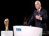 """رئيس الفيفا يفتح الباب أمام """"دول الخليج"""" للمشاركة في استضافة """"مونديال 2022"""""""
