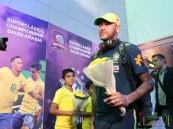 """""""المنتخب البرازيلي"""" يصل الرياض بكامل نجومه"""