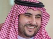 """بالفيديو.. """"خالد بن سلمان"""" يفضح الحوثيين وملاليهم في تجنيد الأطفال وزجهم بالمعارك"""