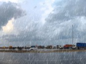 """""""الأرصاد"""" تتوقع: هطول أمطار رعدية مصحوبة برياح نشطة على هذه المناطق"""