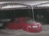 إعلان أول حالة وفاة بسبب السيول في الكويت