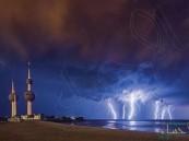 """""""الكويت"""" تشهد أمطارًا لم تحدث منذ نصف قرن .. وتعطل كامل للجهات الحكومية غداً"""