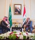ولي العهد يبحث مع رئيس العراق تطوير العلاقات الثنائية