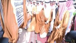 """شاهد بالصور.. الأمير """"سعود بن نايف"""" يدشن جسري""""صلاح الدين"""" و """"مكة"""" بالأحساء"""