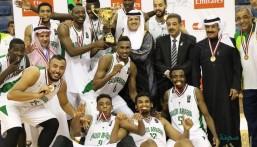 بالصور .. أخضر السلة يتوج بلقب البطولة العربية