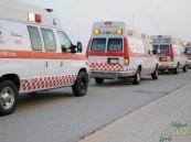 مُسعف يفاجأ بوفاة شقيقه وابنه أثناء مباشرته لحادث مروع !!