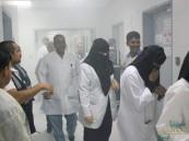 """بالصور.. تسرب """"مواد خطرة"""" يُخلي مستشفى """"الأمير سعود بن جلوي"""" وهميًا بالأحساء !!"""