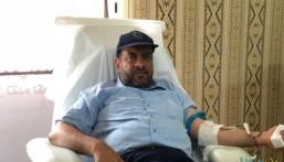 """بالصور.. """"200"""" متبرع لحملة التبرع بالدم في """"صناعي الأحساء"""" الأول"""