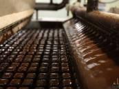 رصيف من الشوكولاتة في بلدة ألمانية !!