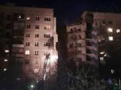 روسيا تستيقظ فجرا على كارثة انهيار بناية شاهقة