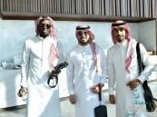 """بالزيّ السعودي """"الأخضر"""" يطير الى دبي"""