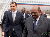 """بالصور.. """"البشير"""" يكسر الحاجز ويسجل نفسه كأول رئيس عربي يزور """"بشار"""" !!"""