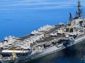 شاهد.. وصول حاملة طائرات أمريكية لمياه الخليج لمواجهة التهديدات الإيرانية للملاحة الدولية