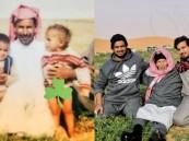 الفرق بينهما 38 عامًا .. هذه قصة صورتي الأب السعودي وابنيه !!