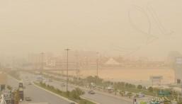 """""""الأرصاد"""": رياح مثيرة للأتربة والغبار على نجران والرياض والقصيم"""