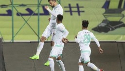 """في مباراة مثيرة """"الاهلي"""" يفوز على """"التعاون"""" بأربعة أهداف"""