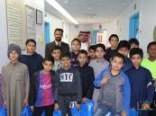 """طلاب """"عثمان بن عفان"""" الابتدائية في مستشفى """"الولادة والأطفال"""" بالأحساء"""