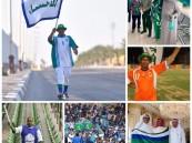 """بالصور .. """"العرادي"""" يُكرم المشجع الأحسائي الشهير """"عباس العليان"""""""