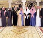 """بالصور.. """"أمير الرياض"""" يستقبل رئيس وأعضاء مجلس إدارة """"إعلاميون"""""""