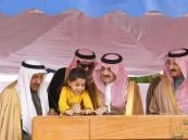 """بالصور.. الأمير سعود بن نايف يضع حجر الأساس لمركز """"حمد الجبر"""" للأورام بالأحساء"""