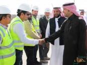"""""""وزير الإسكان"""" يتفقد عددًا من المشاريع السكنية في """"المنطقة الشرقية"""""""