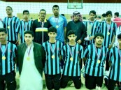 فريق ثانوية العمران يفوز ببطولة الكرة الطائرة لمدارس تعليم الأحساء