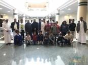 """لجنة """"حي الحوراء النموذجي"""" تقيم زيارة لمكتبة """"جامعة الملك فيصل"""""""