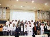 """بالصور… وفد من """"أرامكو السعودية"""" يتعرّف على إنجازات معهد """"NITI"""""""