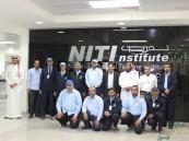 """بالصور … معهد """" NITI """" يستضيف وفد """"صناعي الأحساء"""" الثالث"""