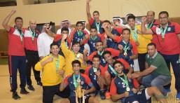 """بالصور… """"العدالة"""" يخطف لقب بطولة المملكة في """"كرة اليد"""" للشباب"""