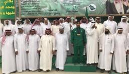 """ثانوية """"العمران"""" تحتفل بالبطل العالمي """"علي العثمان"""""""