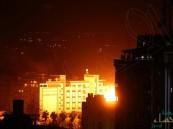 غارات ليلية على غزة وصواريخ على إسرائيل رغم إعلان وقف إطلاق النار