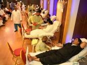 """""""323"""" متبرعًا بحملة """"خيرية المنصورة"""" للتبرع بالدم"""