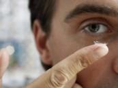 ابتكار عدسات لاصقة لعلاج حساسية العين
