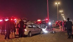 الكويت: 8 وفيات وإصابة بليغة في حادث تصادم مروع