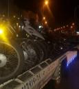 """بالصور… حجز """"٤٠"""" دراجة نارية حصيلة حملات """"المرور"""" على القرى في الأحساء"""