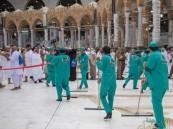 شؤون الحرمين: 4 آلاف عامل لتنظيف صحن المطاف ليلة 27 رمضان