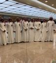 """منسوبو جوازات """"مطار الملك فهد"""" يجتمعون على مأدبة سحور رمضانية"""