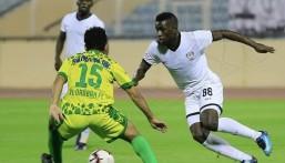 """منتخب موريتانيا يضم لاعب هجر """"ديوب"""" إلى قائمة أمم إفريقيا"""