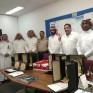 """مدرسة ونادي """"الأمير محمد بن فهد"""" تُكرم إدارة المباني المدرسية بأرامكو"""