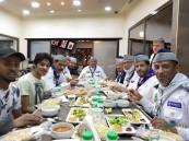 إفطار جماعي لرواد كشافة الأحساء تتويجاً وختاماً لبرامجهم الرمضانية
