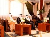 سمو الأمير سعود بن نايف سمو نائبه يستقبلان مدير جامعة الملك فيصل بالأحساء