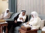 """أسرة """"آل شيخ مبارك"""" تستقبل الشيخ """"صالح السالم"""""""