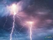 طقس الأحد: أمطار رعدية مصحوبة بزخات برد على مناطق بالمملكة