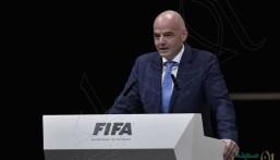 """إعادة انتخاب إنفانتينو رئيساً لـ""""الفيفا"""" بالتزكية"""
